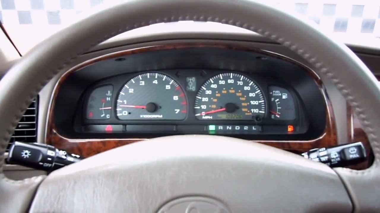 1999 Toyota 4 Runner Limited 4x4 Dscn2528 Youtube