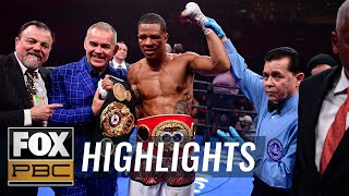 Julian Williams defeated in upset to Jeison Rosario in the 5th round TKO | HIGHLIGHTS | PBC ON FOX