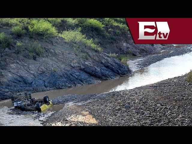 Van ocho muertos por crecida de Agua Prieta, en Sonora / Nacional
