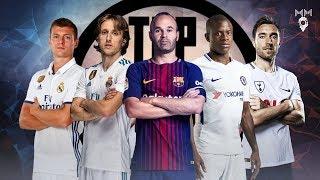 Top 10 Midfielders in Football 2018 ● HD