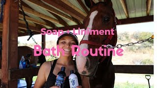 Soap Liniment Bathing Routine