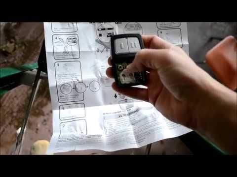 How To Program a Chamberlain Clicker Universal Garage...