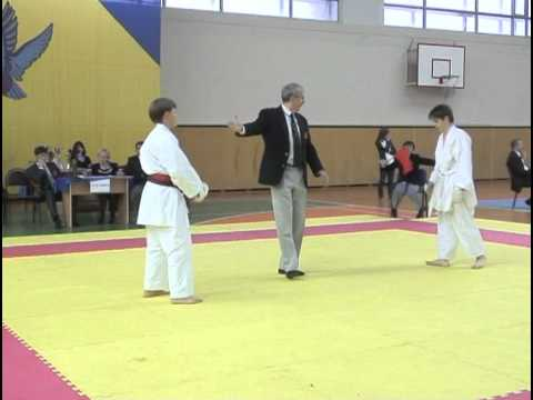 Shotokan Karate The Best Fights Russian Cup 2010 video