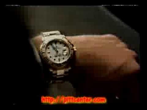 Brad Pitt Rolex commercial. Brad Pitt Rolex commercial