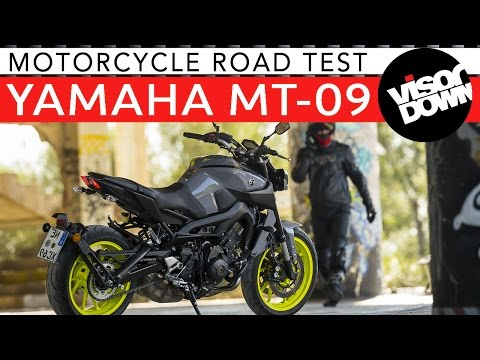 Yamaha MT-09 Review Road Test   Visordown Motorcycle Reviews