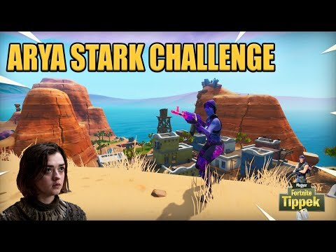 Arya Stark challenge | Loadout csere + No crosshair [Fortnite]
