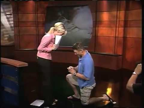 Andrea Robinson's on air marriage proposal
