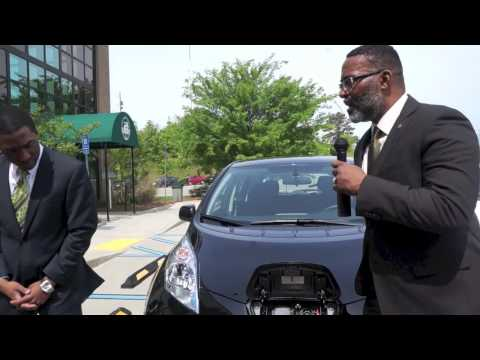 DeKalb opens electric charging stations for the public