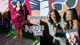 Fashion Nova X Cardi B Event