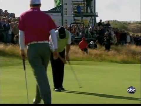 2009 British Open Final Round, Stewart Cink Beats Tom Watson In A Playoff Video