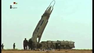Syrian Army Test Ballistic Missiles