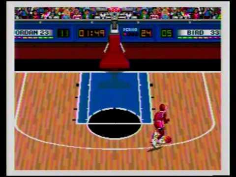 Jordan vs Bird one on one sega
