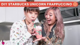 DIY Starbucks Unicorn Frappuccino - Hype Hunt: EP24
