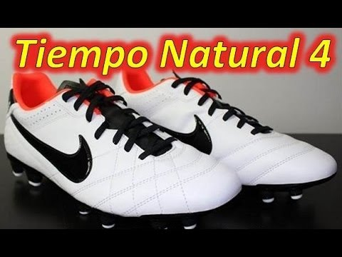 Nike Tiempo Natural IV White/Total Crimson/Black - Unboxing + On Feet
