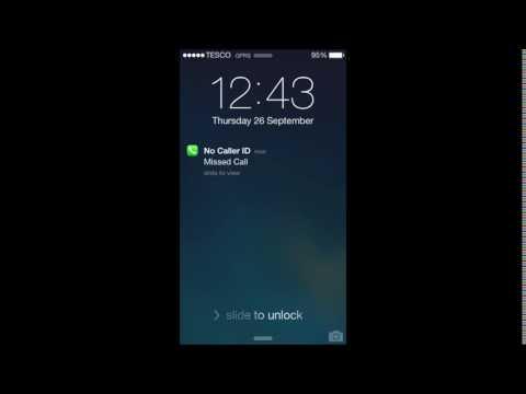 iOS 7 Default Notification Sound Note