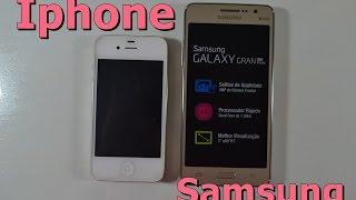 Troquei meu Iphone por um Samsung Galaxy Gran Prime?