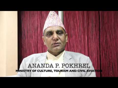 Question to Nepal's Government Minister of culture , tourism and civil aviation.