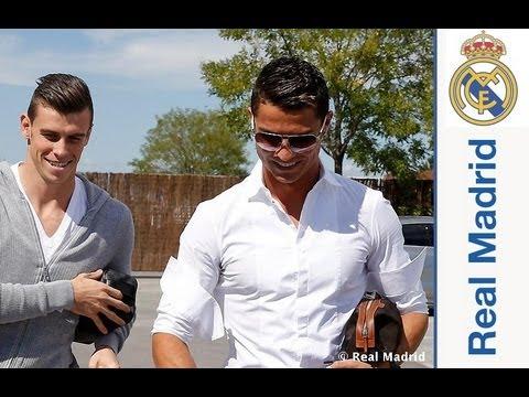 Así fue el primer día de Bale en la Ciudad Real Madrid