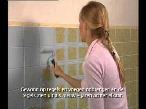 Jaeger acryl tegel  badkuiplak (www vistapaint nl)  YouTube