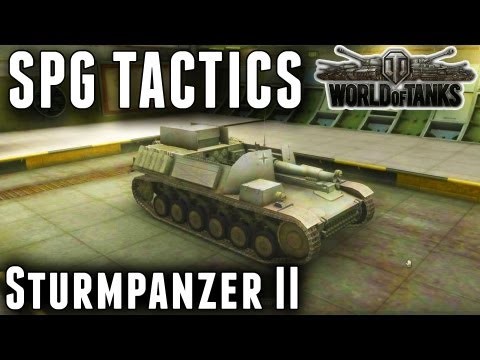 SPG Tactics - Sturmpanzer II - World of Tanks Tips