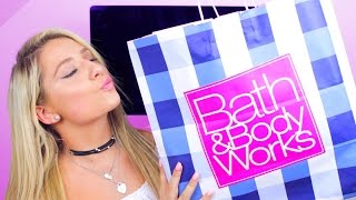 HUGE BATH AND BODY WORKS HAUL + GIVEAWAYS!!
