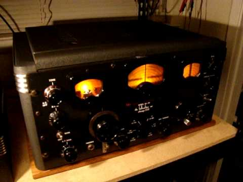 Early 1941 Hallicrafters SX-28  Shortwave Receiver