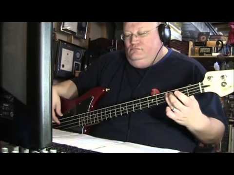 The Temptations My Girl Bass Cover video
