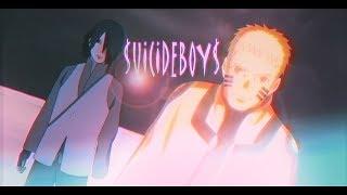UICIDEBOY  BORUTO Naruto  Sasuke vs Momoshiki AMV