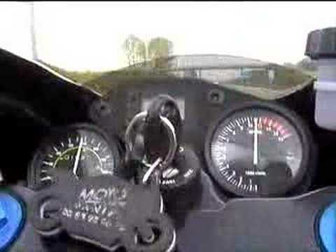 Aprilia RS125-Top speed