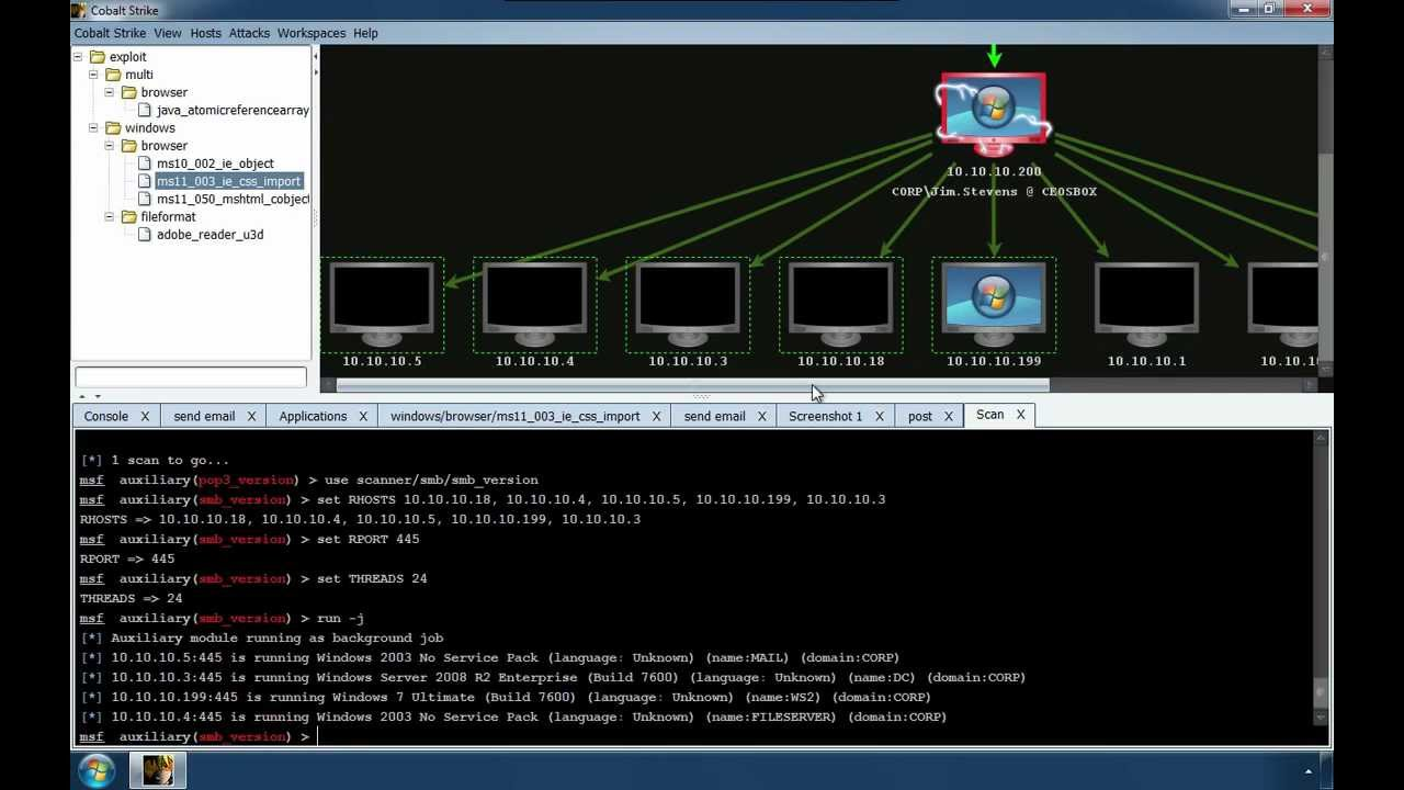 Cobalt Strike Penetration Testing Software Youtube