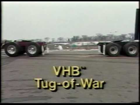 3M� VHB� Tapes tug of war