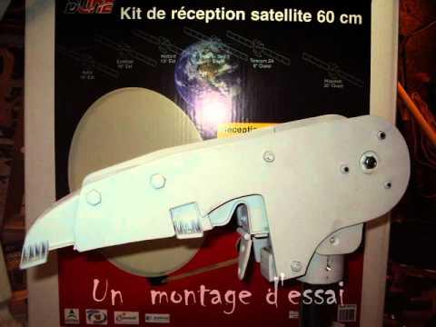 Antenne parabole satellites pour camping car youtube - Regler une parabole ...