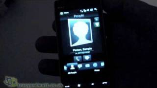 HTC Touch Diamond2 Unboxing and Preview video