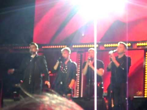 Westlife - Swear It Again/Kian's Speech - Where We Are Tour - Newmarket Racecourses