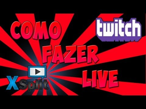 [TUT - PT-BR] Como Fazer Lives Pelo Twitch.Tv