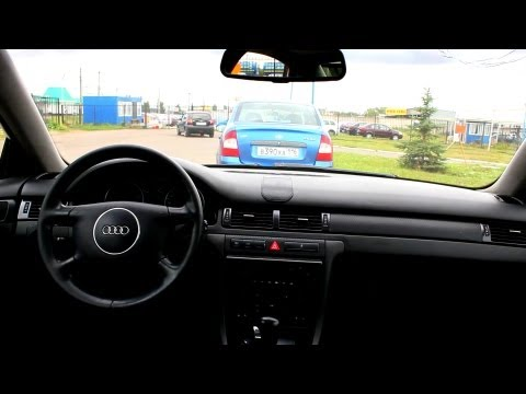 2002 Audi A6. Test Drive.