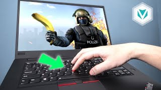 Chiến Game trên TrackPoint ThinkPad 😂😂😂