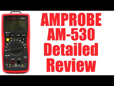Amprobe AM-530 Multimeter Detailed Review - #0090