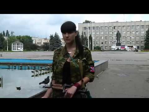 Militia Soldier - Elena, from Sloviansk - 6/18/14