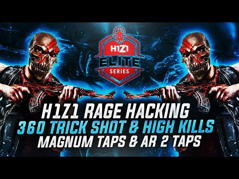 H1Z1 - 360 TRICKSHOT & ULTRA RARE SKIN UNBOXING + HIGH KILL WIN (H1Z1 HACKING)