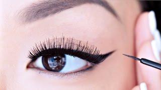 HOW TO: Apply Liquid Eyeliner For Beginners | chiutips