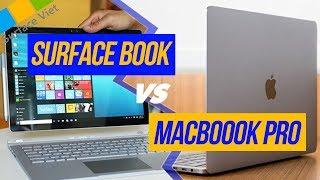 Surface Book vs Macbook Pro - Nên chọn máy nào?