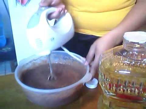 Como hacer chocoflan o pastel imposible..