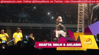 Shatta Wale & Alkaline - Performance at MTN Pulse concert 2016 | GhanaMusic.com Video