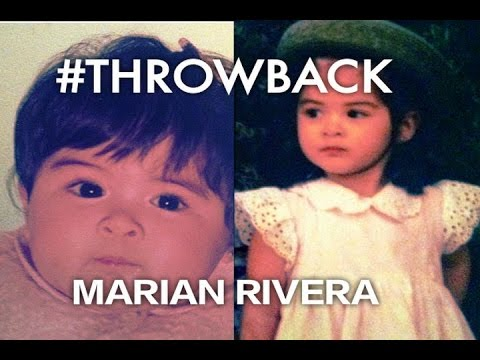 MARIAN RIVERA #THROWBACK Pictures