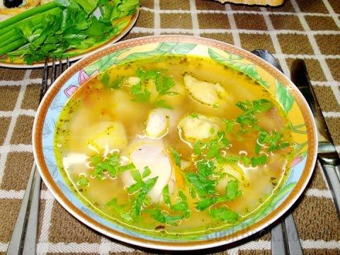 """""""Куриный суп с галушками."""""""