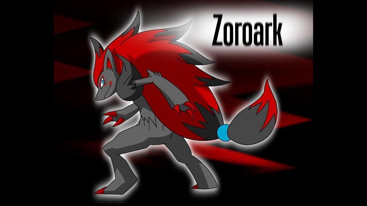 N Zoroark With Professor K and N