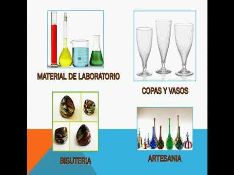 Proceso de fabricación del vidrio