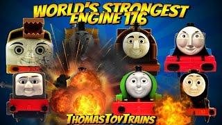 Thomas and Friends 176 World's Strongest Engine Trackmaster Tomy Plarail Toy Trains ThomasToyTrains