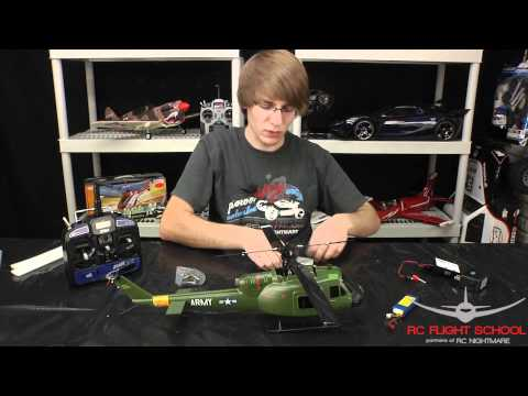 Blade SR UH-1 Huey Unboxing & First Review